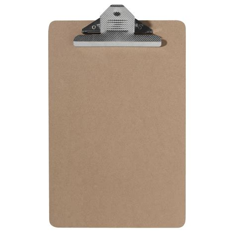 ausinc clipboard a4 masonite with large clip ebay