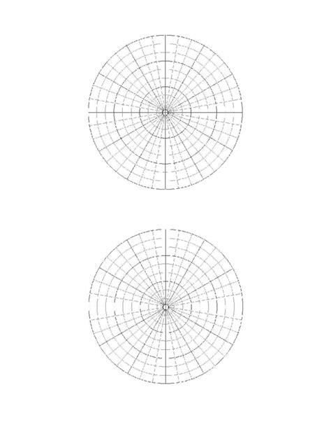 How To Make A Paper Polar - polar coordinate graph paper sle free
