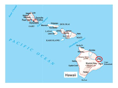 map of hawaii map of hilo hi images frompo 1