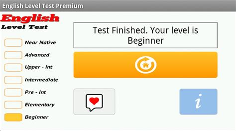 test your level level test apk free education app for