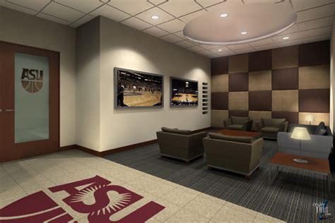 locker room bar asu s basketball new locker room renovation photo gallery