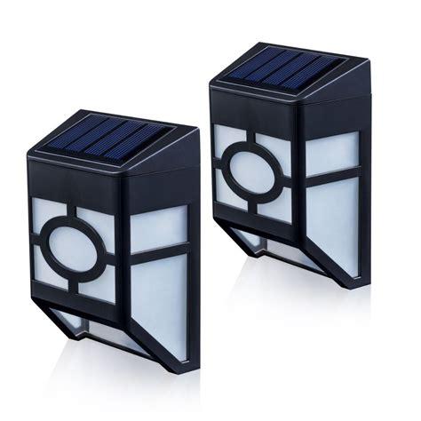 Best Solar Wall And Fence Lights Ledwatcher Best Solar Lights