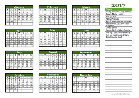 sikh calendar 2017 sikhism festivals holidays