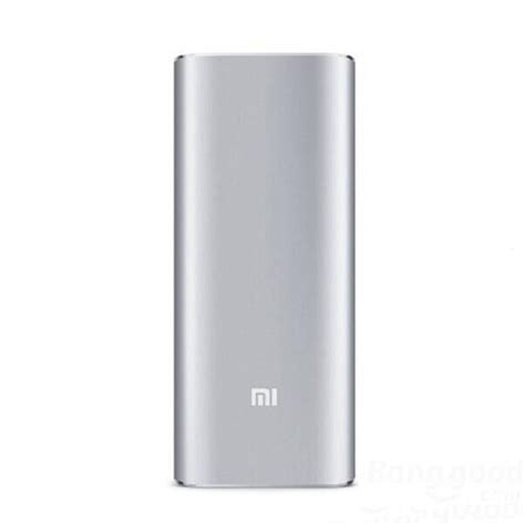 Powerbank Oppo 16000mah Xiaomi 16000mah Mobile External Power Bank Sliver Isky Trading