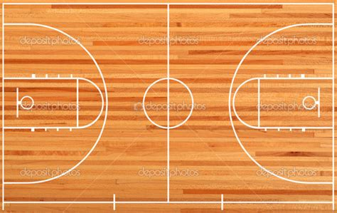 basketball court floor plan basketball court floor plan on parquet background stock