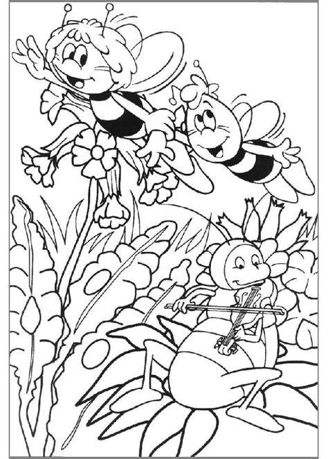 imagenes mayas para dibujar dibujos de la abeja maya para colorear y pintar taringa