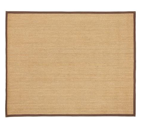 Pottery Barn Seagrass Rug color bound seagrass rug espresso pottery barn