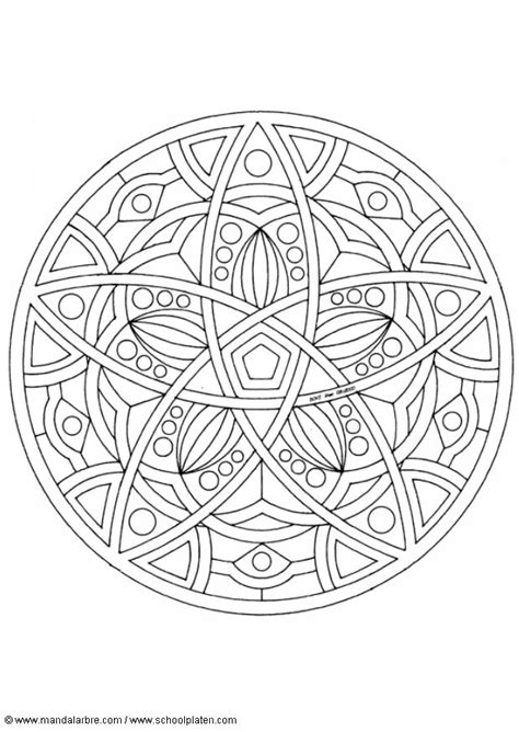 Mandala Coloring Page Blank Coloring Pages