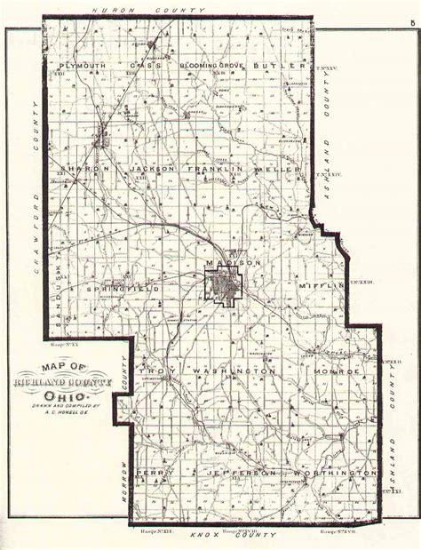the usgenweb archives digital map library richland ohio