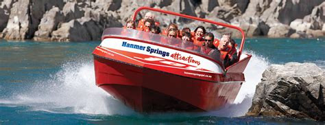 jet boat hanmer springs hanmer springs attractions jet boating trips waiau river