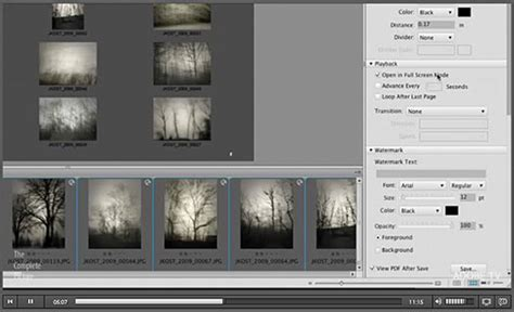 tutorial photoshop lightroom pdf creating web galleries and pdf files free lightroom