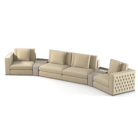fendi sofa 3d fendi sectional sofa