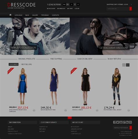 21 responsive virtuemart themes templates free