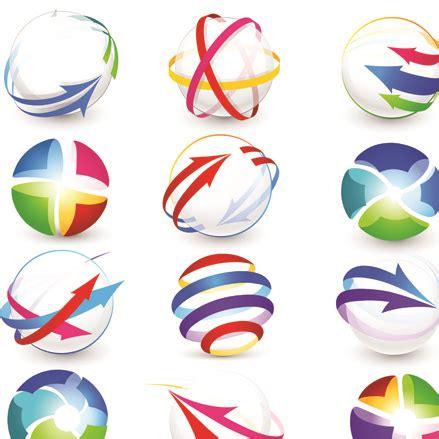 logo icon design online sport elements logo and icon vector 01 welovesolo
