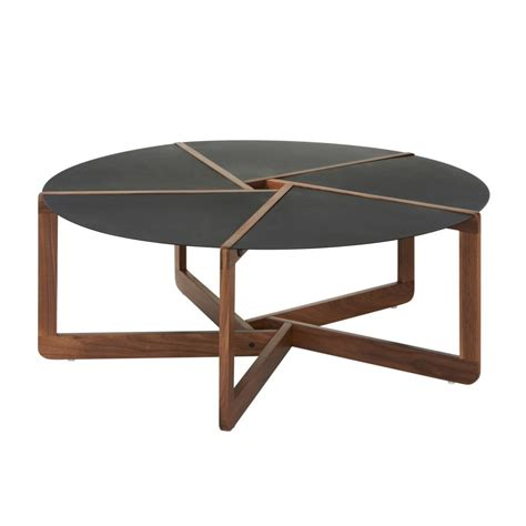 modern coffee table modern coffee tables round black table wooden legs