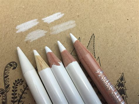 how to make the color white white colored pencils some ways to use it