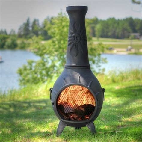 chiminea vs fire pit fire pit ideas