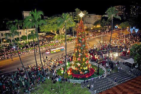 Honolulu City Lights by 30th Annual Honolulu City Lights Opens In Town Saturday