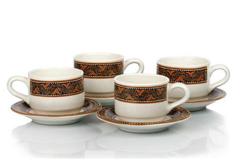 briliant batik traditional pattern on glassware pt