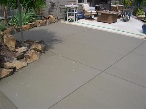 Cement Patio Finishes Broom Finish Patio Addition Veneta