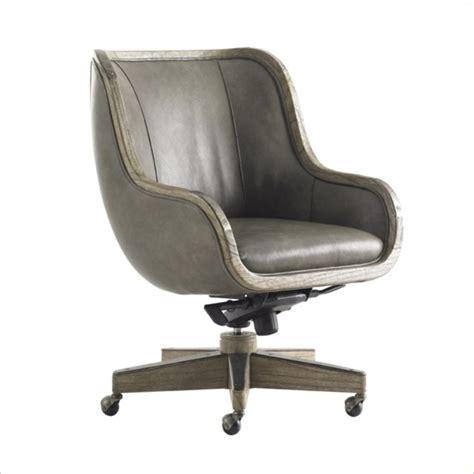 office chair and desk sligh barton creek fischer leather desk chair