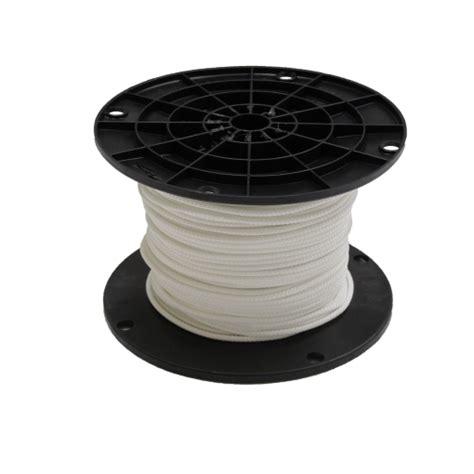 mm white cord nylon cord cording drapery supplies