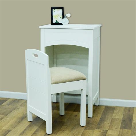 space saving vanity brighten up your bedroom with these fresh white furniture