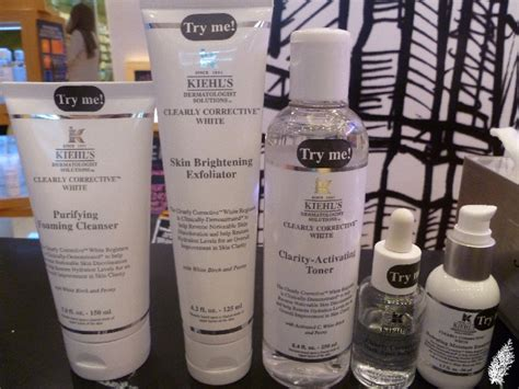 Diskon Kiehls Clear Corrective White Clarity Activating Toner kiehl s dermatologist solutions clearly corrective white