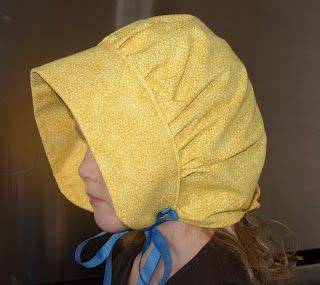 pattern for apron bonnet we have been watching and reading little house the