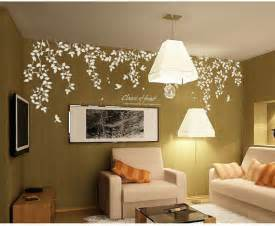 Home Decor Ideas For Walls Classic Of Forest Wall Stickers Home Decorating Photo