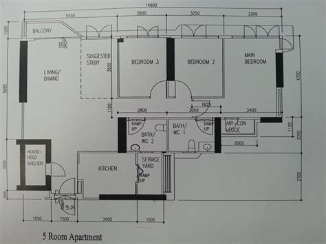 skyline floor plans 5 room with balcony skyline i hdb floor plan designs