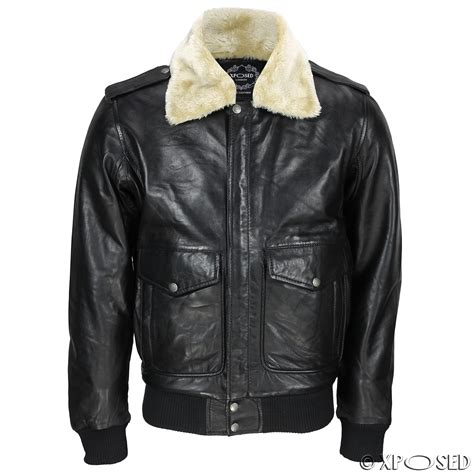 pilot jackets for sale new mens real leather us air pilot bomber jacket removable