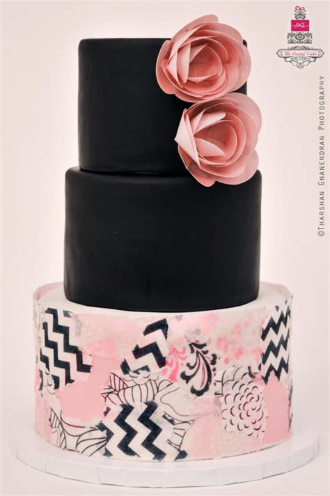 decoupage cake tutorial 13 best images about wafer paper flowers on pinterest