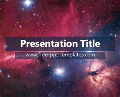 powerpoint templates galaxy free universe ppt template free powerpoint templates