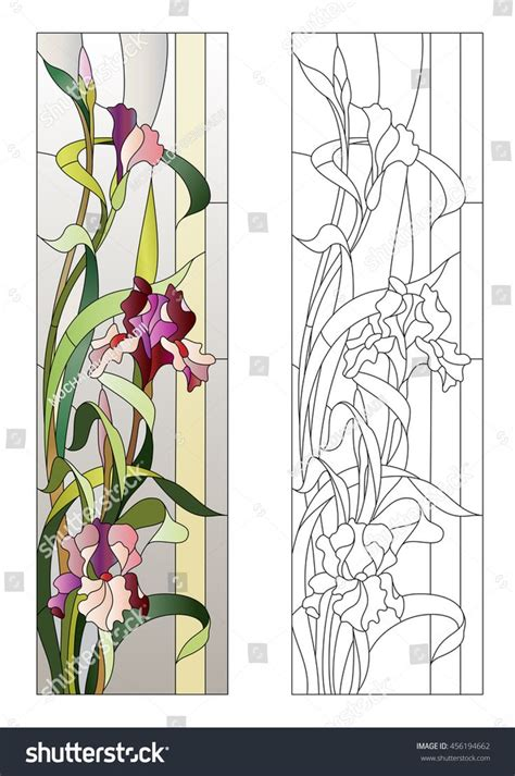 michaels pattern finder 46 best stained glass floral plant images on pinterest