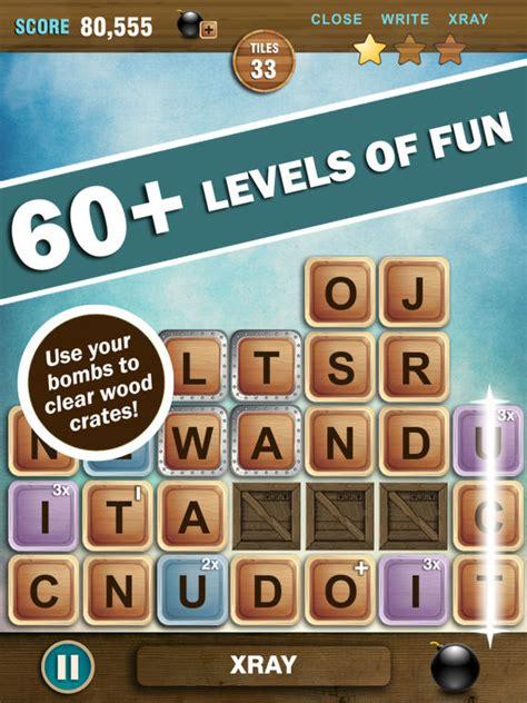 om scrabble dictionary wordizt 2 make words against falling tiles app voor