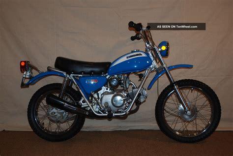 Honda Sl70 by 1971 Honda Sl70 Unrestored Aquarius Blue