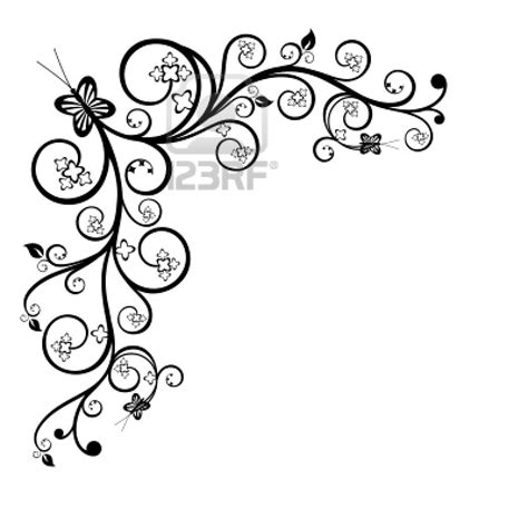 pattern border drawing cool black and white drawings frame clip art black and