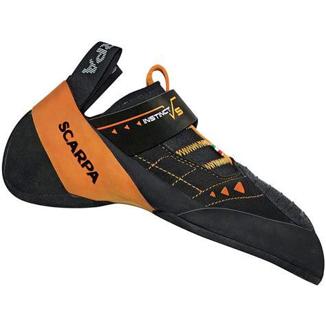 scarpa vantage climbing shoes scarpa instinct vs climbing shoe vibram xs edge