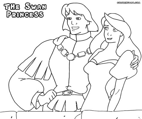 swan princess coloring pages free swan princess coloring pages coloring pages to