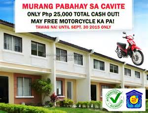 Murang pabahay sa cavite only php 25 000 total cash out may free