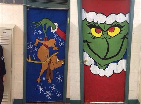 christmas door decorating ideas for contest pictures 2018 themed door decoration www indiepedia org