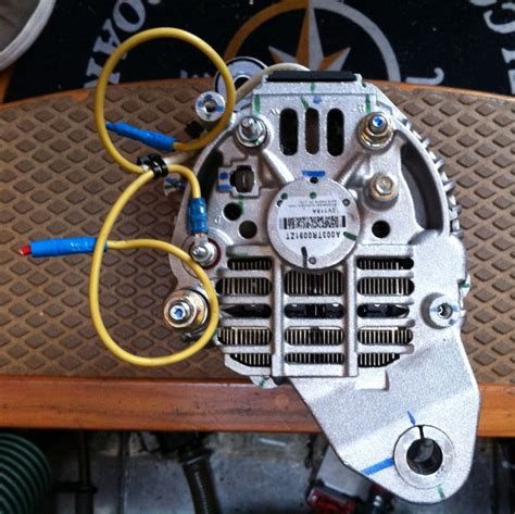 volvo penta alternator wiring diagram moreover starter