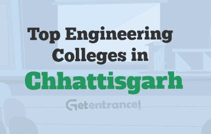 Mba Colleges In Chhattisgarh by Top Engineering Colleges In Chhattisgarh 2018 Admission