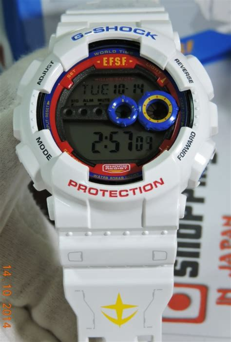 Gd 100 Gundam casio g shock x gundam 35th anniversary gd 100 shopping in japan net
