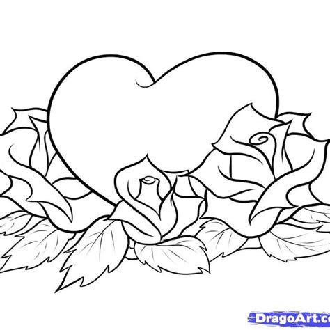 gangster love coloring pages gangster heart drawings www imgkid com the image kid