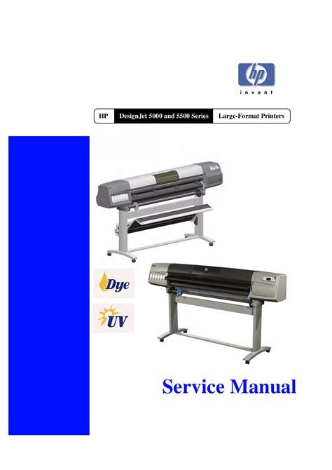 free designjet download free pdf for hp designjet 5500uv printer manual
