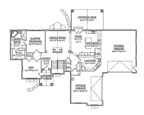 rambler floor plans with basement impressive house plans rambler 9 rambler house plans with