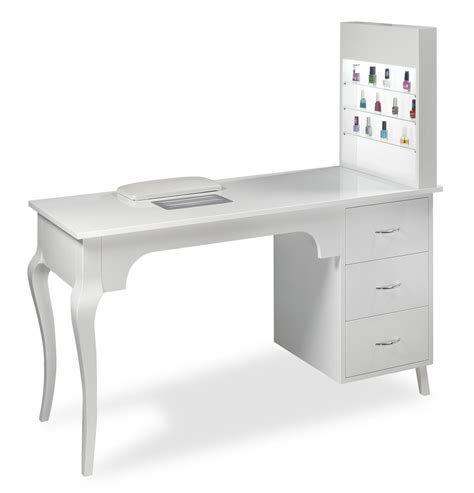 White Manicure Table Design Ideas For Manicure Tables White Manicure Table