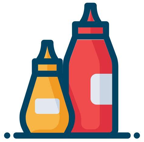 onlinelabels clip art ketchup  mustard